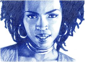 Lauryn Hill by Chiisa