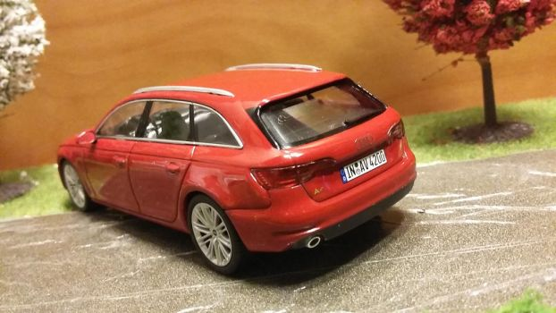 Rear of the new A4 by modelcargallery98