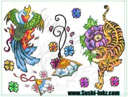the tiger flash sheet by gothicsushi