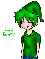 Dick Figures: Lord Tourettes (anime version) by ariannejae