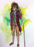 Bilbo Baggins (REQUEST) by Chrisily