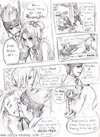 Doujin -- Blank and Zidane by The-Z