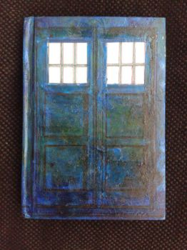 Tardis Book FACE by JoJoshJoshua