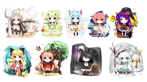 Little random adopts -OPEN by Ayuki-Shura-Nyan