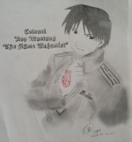 Flame Alchemist by roy-mustang