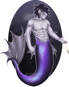 [Euclesiart] 20 Days Art Challenge Mermaid Day 3 by EuclesiArt