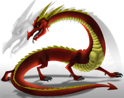 Red Dragon by crystylla