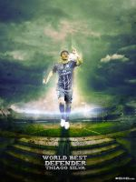 Thiago Silva - world's best defender by M-A-G-F-X-Graphic