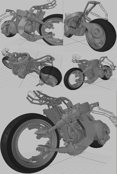 WIP :: uBike modeling10 by wh6b