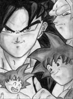 Dragon Ball Historia by zidane776