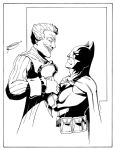 Batman vs Joker by Sketch64