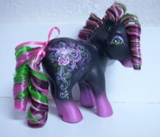 MLP Custom Rockabilly Rose by colorscapesart