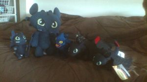 My Toothless Family So Far by PokeLoveroftheWorld