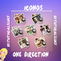 Iconos One Direction by tutorialslucy