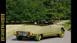 Citroen DS21 EFI Decapotable Gold Edition by MOMOY by MOMOYAK