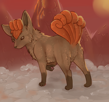 vulpix speedpaint by catfarts