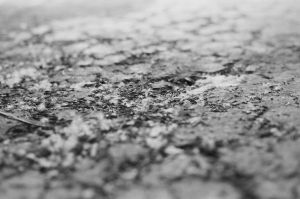 Dirt on Concrete by Oinkment