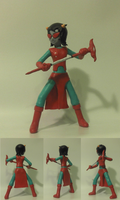 Terezi Hero Mode Figure by EnzanEXE