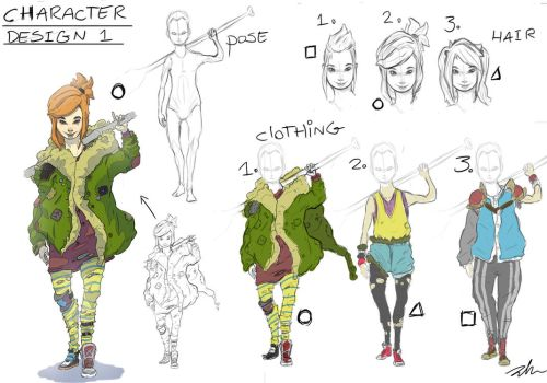 Post Apocalyptic Character Development sheet by TheGrimMeanie