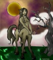 Centaur Lady by Silverbrook