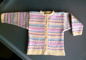 Wool Jacket for Safia by ToveAnita