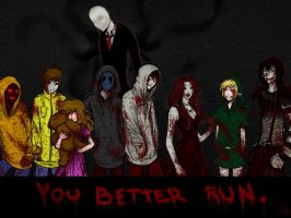 You Better Run. by AliceInVoodooWorld