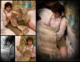 Bilbo Baggins with contract by XxGogetaCatxX