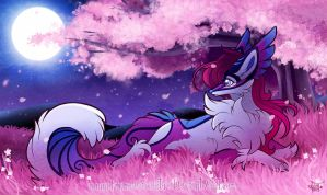 Moonlight Garden by FennecSilvestre