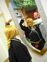 Mirror Mirror make me tall... by Crappy-Happy-Cosplay