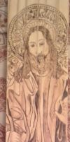 Jesus Pyrography by wickedtiger86