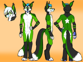 ZVulf Ref sheet by VengefulSpirits