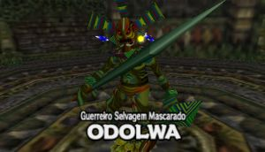 Boss Odolwa by linkwolfshadow