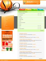 Basketbal site design by Indriks