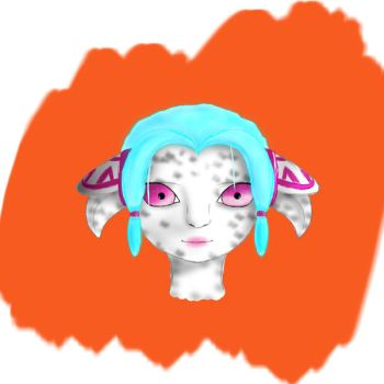 Guild Wars 2 Asura Sketch by OnlyIfItsFluffy