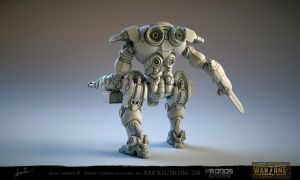 Warzone Resurrection Meka by kazube