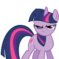 Twilight Sparkle Angry by GamerGirlPony