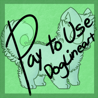 :Pay to Use Dog Lineart: by PrePAWSterous