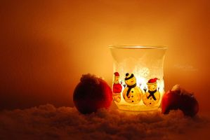 Snowman light II by marialivia16