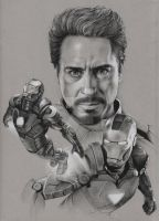 The Avengers - Iron Man by Raven-Scribbles