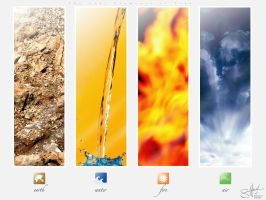 The Four Elements of Life by system-s