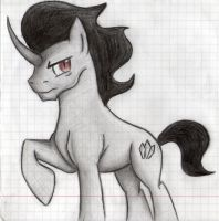 King Sombra Unarmored MLP:FIM by InfernalShades