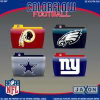Colorflow Football Set 8 by JayJaxon