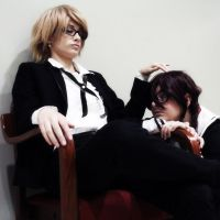 Togami and Fukawa by NAkos