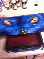 Dragon Box Face Detail by KitsuneKarin