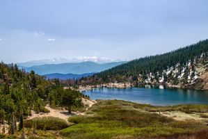 St. Mary's Lake by jbkalla