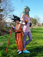 Dragonball Cosplay by seely-san