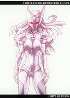 Commission : Lady Ultron by turtlechan
