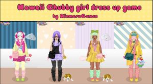 Kawaii chubby girl dress up game by Rinmaru