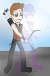 Becoming the Hawkeye that he is... by Catothecat