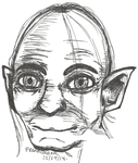 Christmas Gifts for friends - Gollum by PrennCooder
